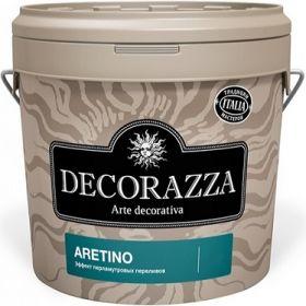 Декоративная Штукатурка Decorazza Aretino 5л с Эффектом Перламутровых Переливов