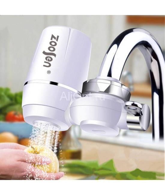 Проточный фильтр насадка для воды Water Purifier