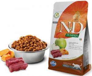 Farmina N&D GF PUMPKIN д/к оленина и яблоко с тыквой