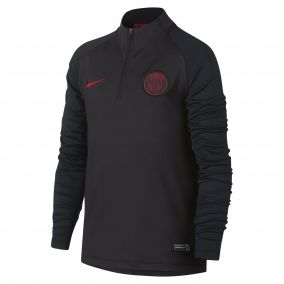 ДЕТСКИЙ СВИТЕР NIKE PSG DRY STRIKE DRIL TOP AQ0858-081 JR