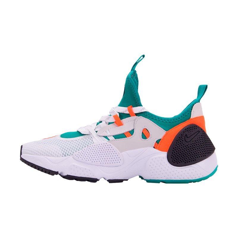 Кроссовки Nike Huarache E.D.G.E. TXT зелено-белые
