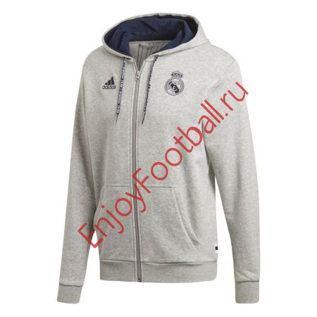 ТОЛСТОВКА ADIDAS REAL FZ HD FW19 DX8696