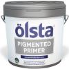 Грунт Укрывающий Olsta Pigmented Primer 14кг Белый для Внутренних и Наружных Работ / Ольста Пигментд Праймер