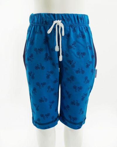 """Шорты для мальчика 5-8 лет BONITO """"bicycle"""" синие"""