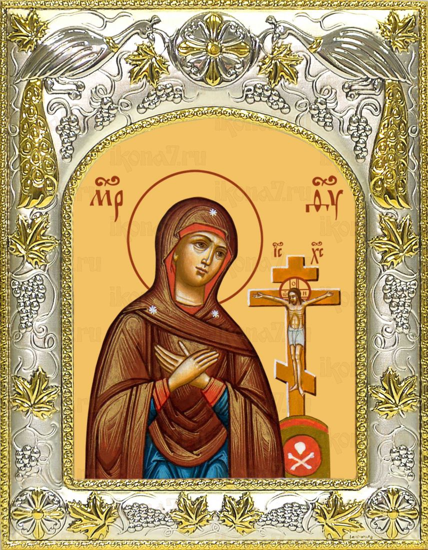 Ахтырская икона Божией матери (14х18)