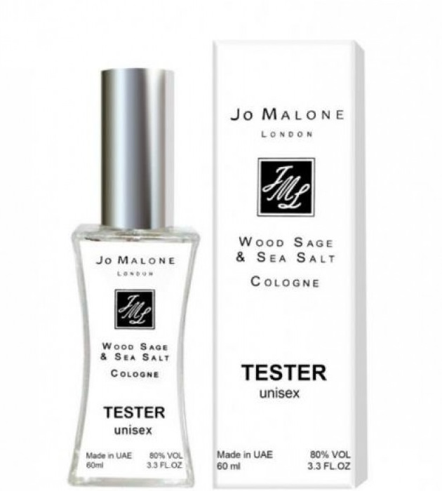 Тестер Jo Mаlоnе Wood Sage & Sea Salt 60 мл NEW