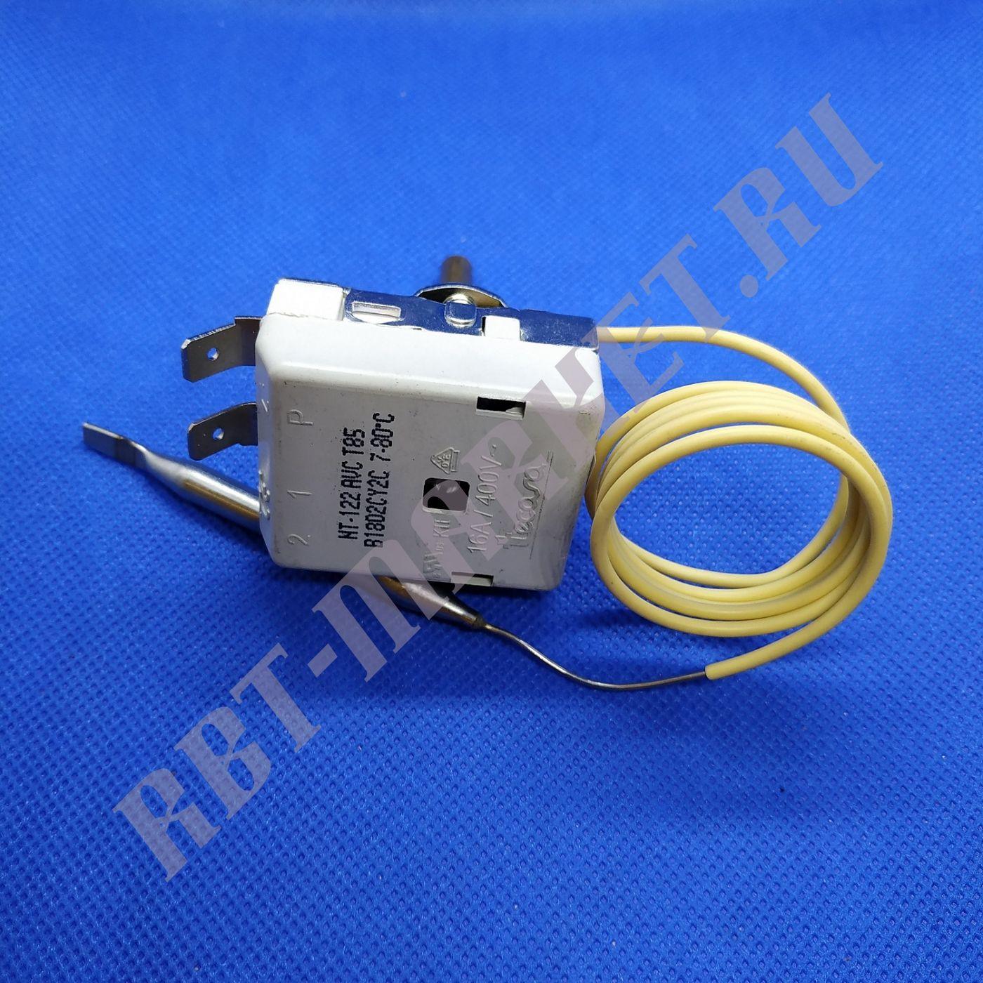Термостат для водонагревателя (бойлера) KT165AVC 7-80°C