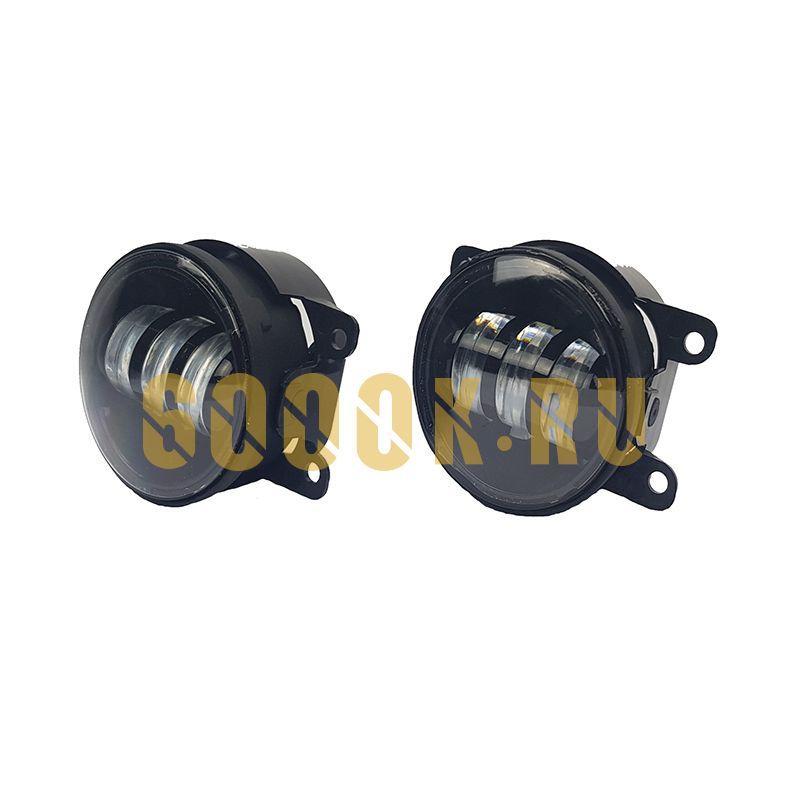 Светодиодные ПТФ 3,5 дюйма комплект 60Вт (для ВАЗ)