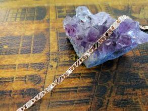 Позолоченная цепочка с имитацией алмазной гравировки, 3 мм (арт. 250272)