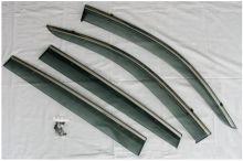 Ветровики окон, H.A.W, с молдингами из стали
