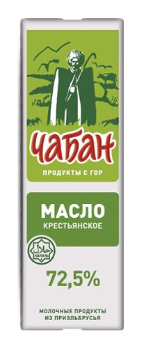 """Масло """"ЧАБАН"""" 72,5%  , 450гр"""
