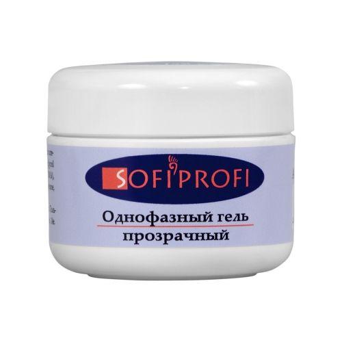Однофазный гель прозрачный,  SOFIPROFI  50 г