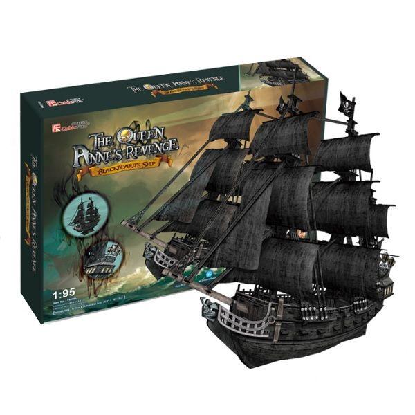 CubicFun  Корабль Месть королевы Анны