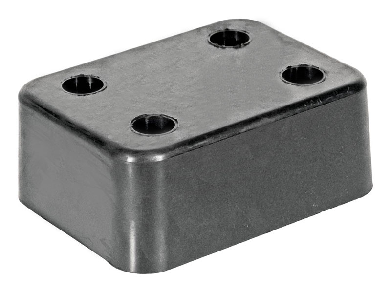 Резиновый отбойник 200х150х80 мм (Арт.: 2007)