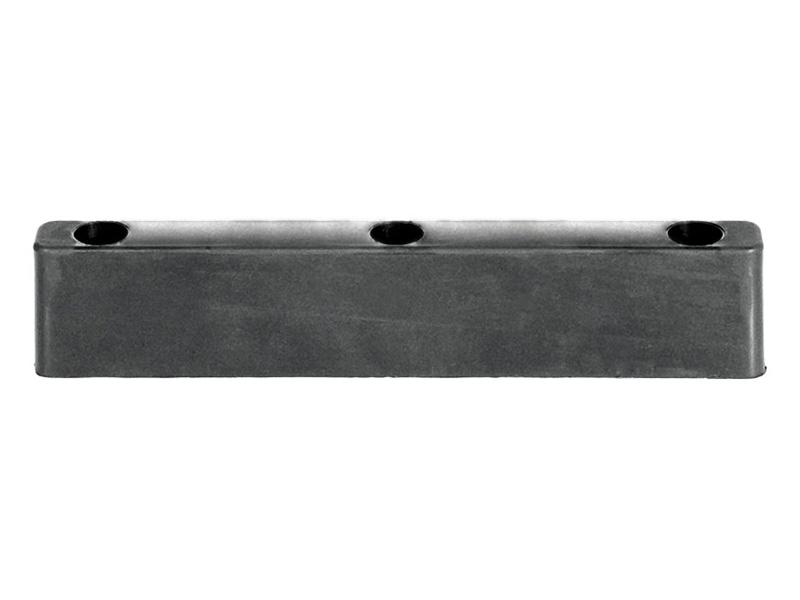 Резиновый отбойник 310х35х60 мм (Арт.: 2006)