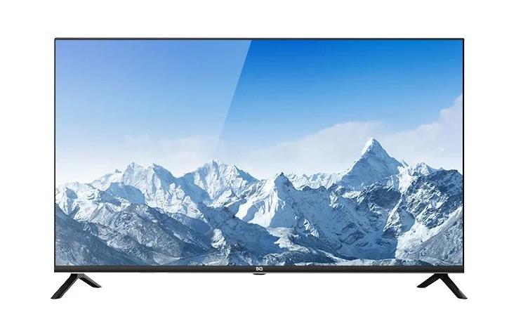 Телевизор BQ 4302B-T2-FHD безрамочный