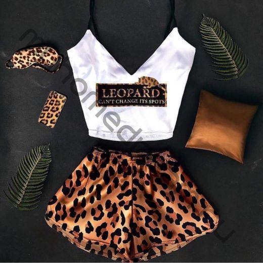 "Пижамка ""Leopard"" шёлк"