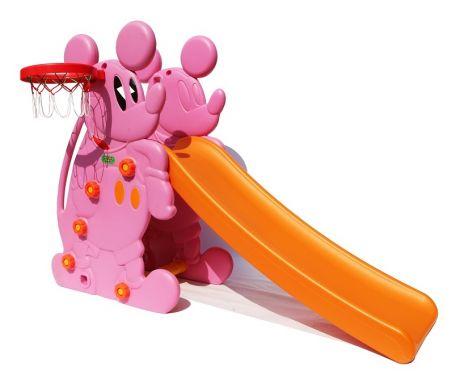 "Горка ""Мышка"" PS-027 розовый"