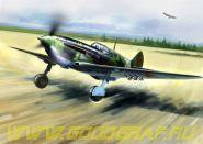 ЛаГГ-3, серия  7-11, совесткий истребитель ІІ МВ