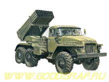 "Ракетная система залпового огня БМ-21 ""ГРАД"""