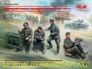 Фигуры, Германский экипаж командной машины (1939-1942 г.)