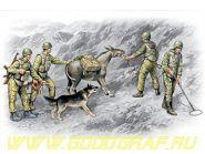 Фигуры, Советские саперы, война в Афганистане 1979-1988