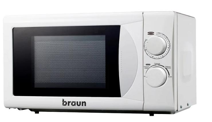 Микроволновая печь BRAUN MWB-20M10W Белая