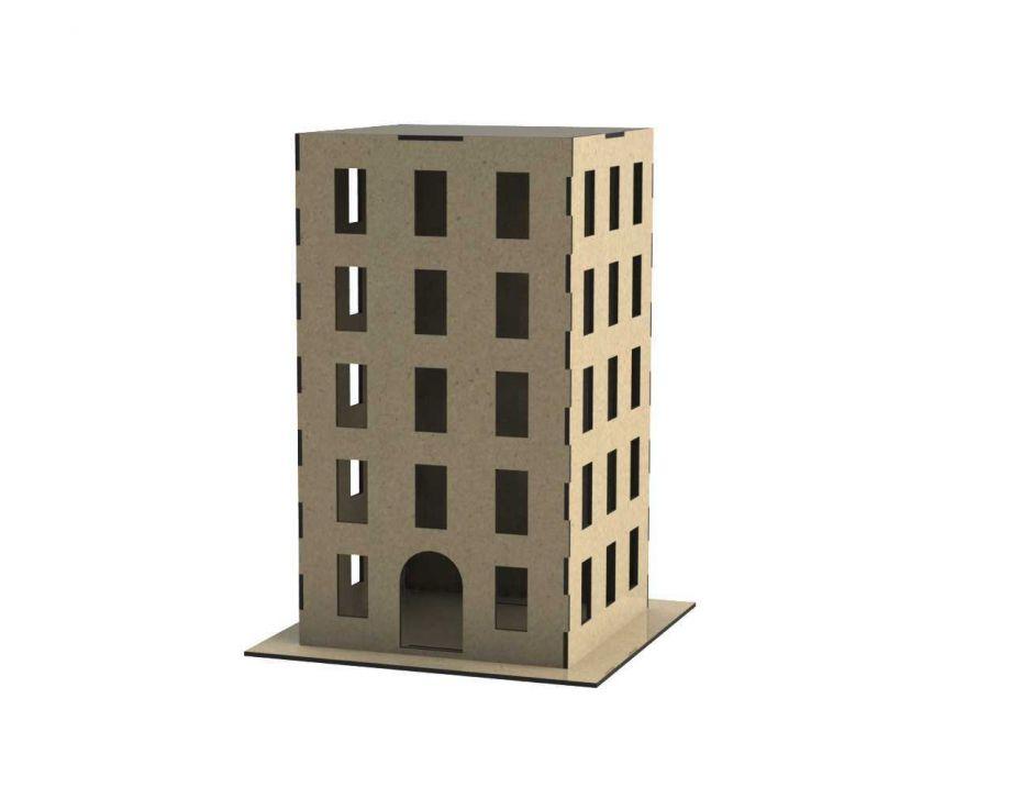 Дом городской из дерева