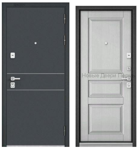 Дверь Бульдорс PREMIUM 90 ЧЕРНЫЙ ШЕЛК