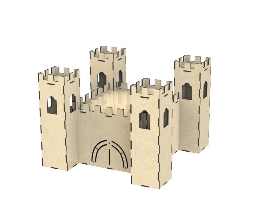 Замок из дерева