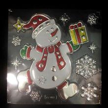 Набор новогодних наклеек Room Decor, Снеговик
