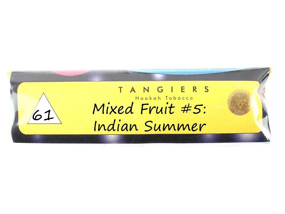 Табак Tangiers Noir - Mixed Fruit #5: Indian Summer (Смесь фруктов #5: Индийское лето, 250 грамм)