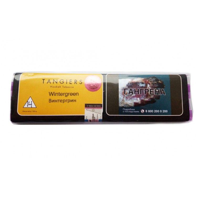 Табак Tangiers Noir - Wintergreen (Винтергрин, 100 грамм, Акциз)