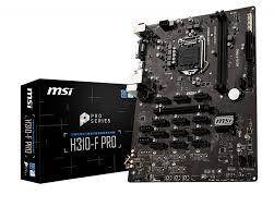 Материнская плата MSI H310-F PRO LGA1151