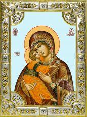 Владимирская икона Божией матери (18х24)