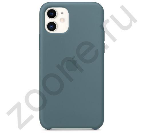 Чехол для iPhone 11 Silicone Case силиконовый цвета полыни