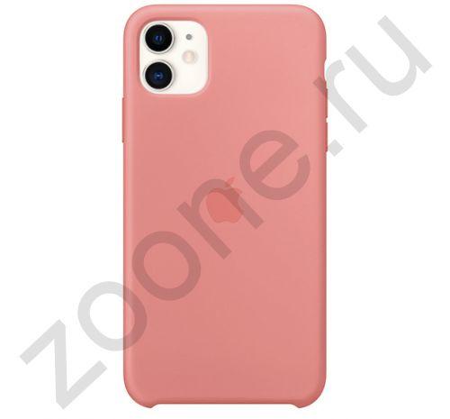 Чехол для iPhone 11 Silicone Case силиконовый абрикосовый