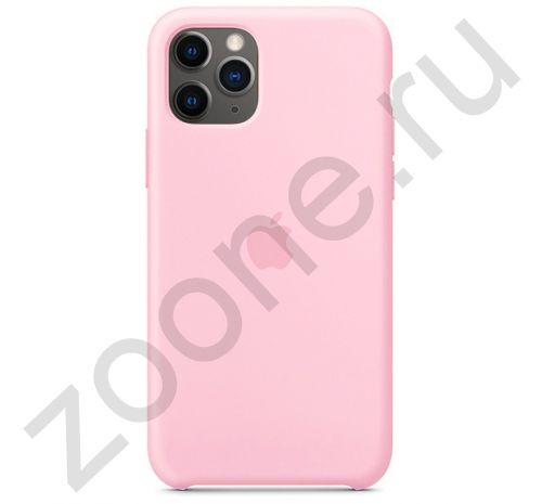 Чехол для iPhone 11 Pro Max Silicone Case силиконовый коралловый