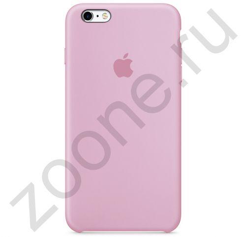 Пудровый силиконовый чехол для iPhone 6/6S Plus Silicone Case