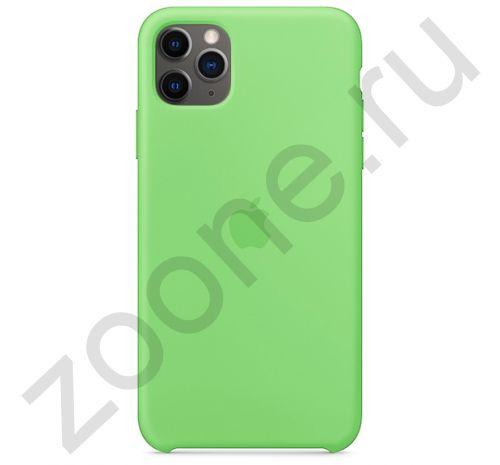 Чехол для iPhone 11 Pro Silicone Case силиконовый зеленый