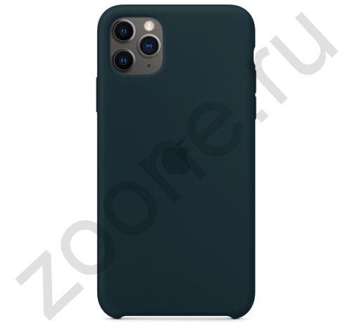 Чехол для iPhone 11 Pro Silicone Case силиконовый цвета дымчатой сосны