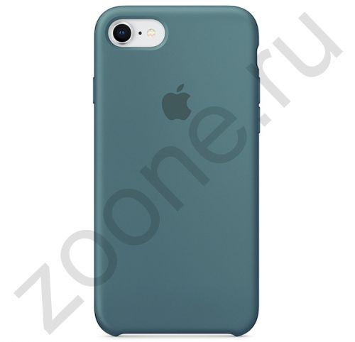 Силиконовый чехол цвета полыни для iPhone SE/8/7 Silicone Case