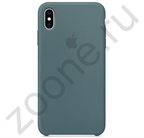 Силиконовый чехол цвета полыни для iPhone XS Max Silicone Case