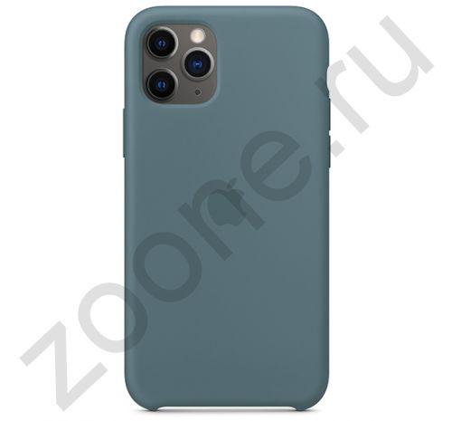 Чехол для iPhone 11 Pro Silicone Case силиконовый цвета полыни