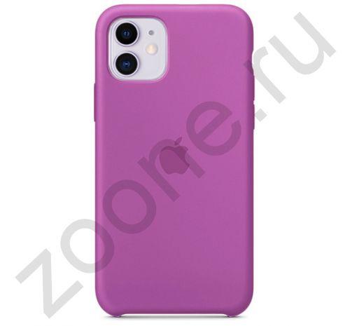 Чехол для iPhone 11 Silicone Case силиконовый цвета орхидеи