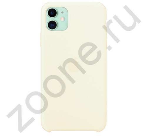 Чехол для iPhone 11 Silicone Case силиконовый дыня