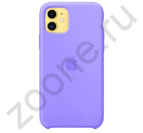 Чехол для iPhone 11 Silicone Case силиконовый аметистовый