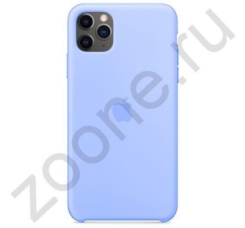 Чехол для iPhone 11 Pro Silicone Case силиконовый светло-синий