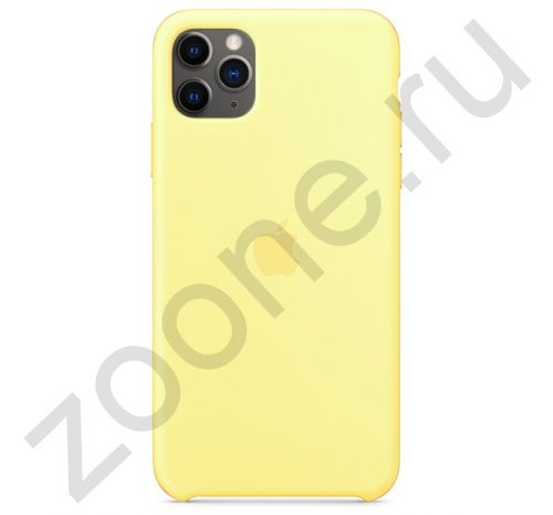 Чехол для iPhone 11 Pro Max Silicone Case силиконовый канареечный