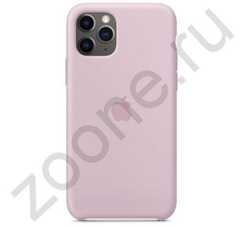 Чехол для iPhone 11 Pro Max Silicone Case силиконовый сиреневый
